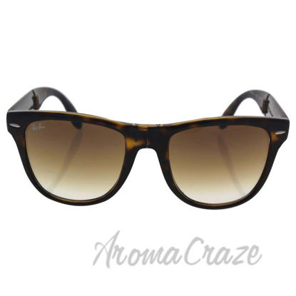 Picture of Ray Ban RB 4105 710/51 Folding Wayfarer - Tortoise Brown/Brown by Ray Ban for Unisex - 54-20-140 mm Sunglasses