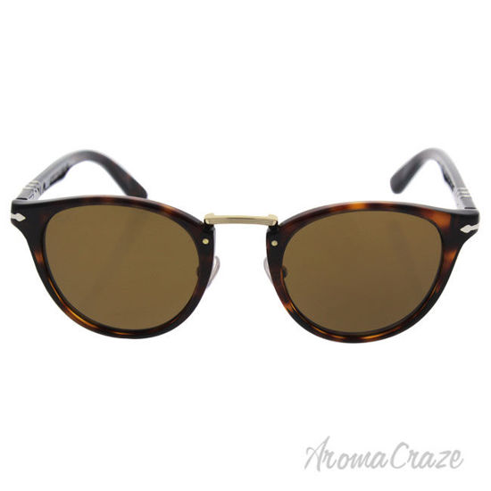 Picture of Persol PO3108S 24/57 Typewriter Edition - Havana/Brown Polarized by Persol for Men - 47-22-145 mm Sunglasses