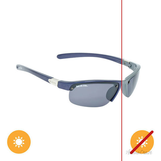 Picture of Solize PCH - Charcoal to Graphite by DelSol for Unisex - 1 Pc Sunglasses