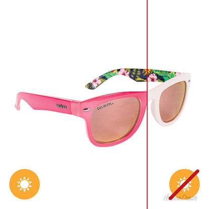 Picture of Solize Where I Belong - White-Pink by DelSol for Women - 1 Pc Sunglasses