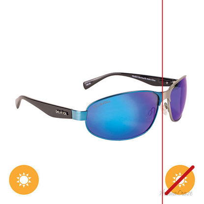 Picture of Solize Wouldnt It Be Nice - Silver-Blue Sport by DelSol for Women - 1 Pc Sunglasses