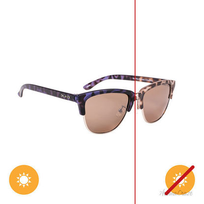 Picture of Solize Heat Wave - Tortoise-Ebony by DelSol for Women - 1 Pc Sunglasses