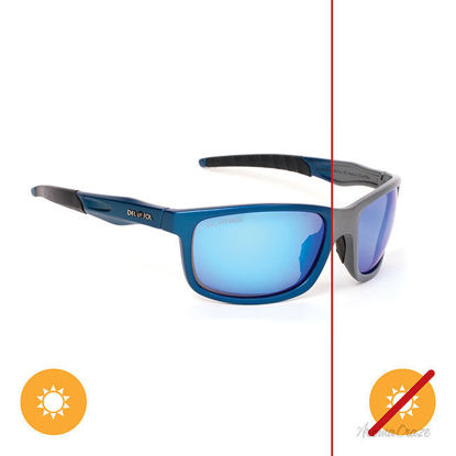 Picture of Solize Somewhere in the Sun - Charcol-Blue by DelSol for Unisex - 1 Pc Sunglasses