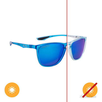 Picture of Solize Ocean is Calling - Light Blue-Blue by DelSol for Unisex - 1 Pc Sunglasses