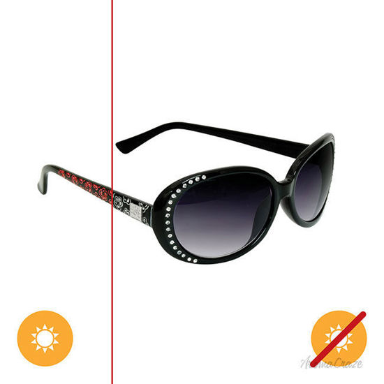 Picture of Solize Help Me Rhonda - Black-Pink by DelSol for Women - 1 Pc Sunglasses