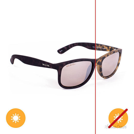 Picture of Solize Uptown Funk - Tortoise-Ebony by DelSol for Unisex - 1 Pc Sunglasses