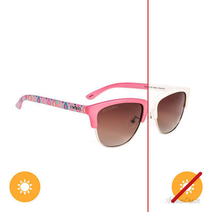 Picture of Solize One Love - Ivory-Pink by DelSol for Unisex - 1 Pc Sunglasses