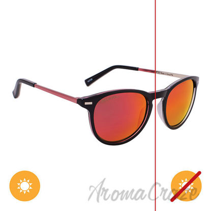 Picture of Solize Candy Girl - Black and Silver to Pink by DelSol for Unisex - 1 Pc Sunglasses