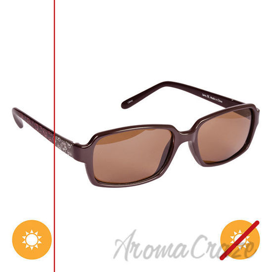 Picture of Solize Lana - Brown to Pink by DelSol for Unisex - 1 Pc Sunglasses