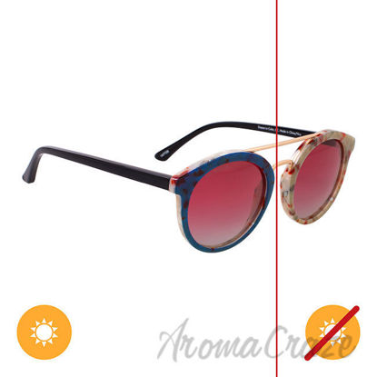 Picture of Solize Dream in Color - Green to Navy by DelSol for Unisex - 1 Pc Sunglasses