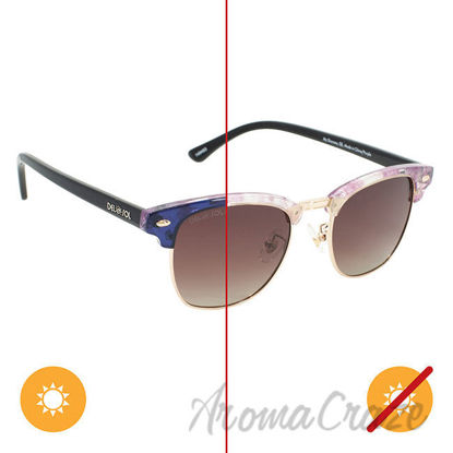 Picture of Solize My Sharona - Clear to Purple by DelSol for Women - 1 Pc Sunglasses