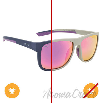 Picture of Solize You Got It - Light Gray to Purple by DelSol for Unisex - 1 Pc Sunglasses
