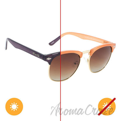 Picture of Solize Listen to the Music - Peach to Purple by DelSol for Women - 1 Pc Sunglasses