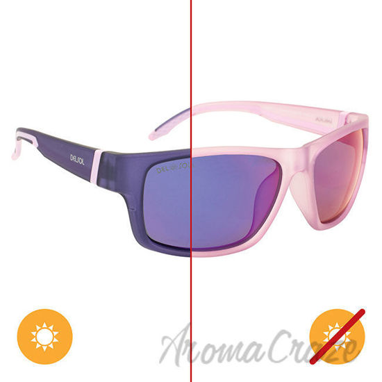 Picture of Solize Summer Wind - Light Purple to Purple by DelSol for Women - 1 Pc Sunglasses