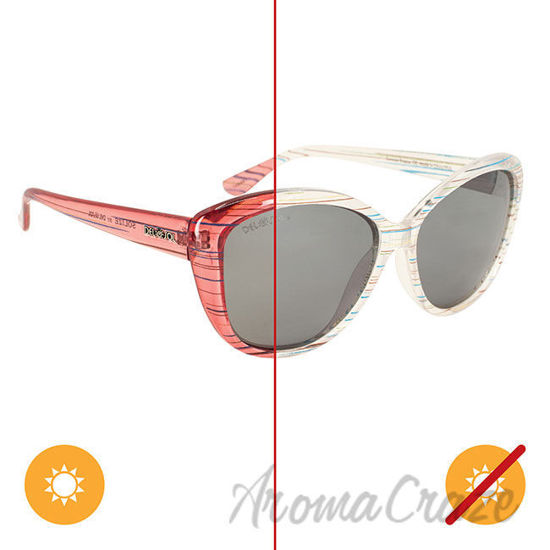 Picture of Solize Summer Breeze - Clear to Pink by DelSol for Women - 1 Pc Sunglasses