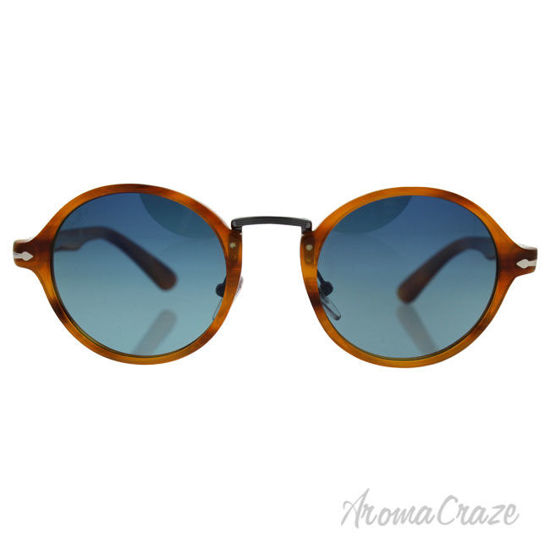 Picture of Persol PO3129S 960/S3 Striped Havana/Blue Gradient Polarized by Persol for Men 48 22 145 mm Sunglasses