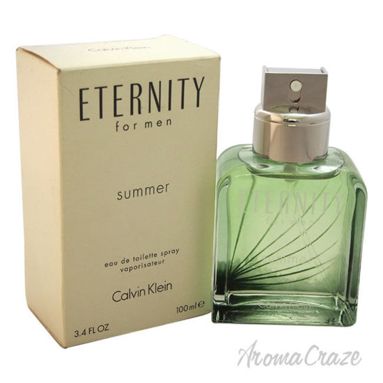 Picture of Eternity Summer by Calvin Klein for Men 3.4 oz EDT Spray (Tester)