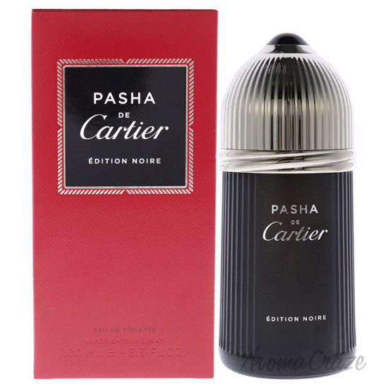 Picture of Pasha De Cartier Edition Noire by Cartier for Men 3.3 oz EDT Spray