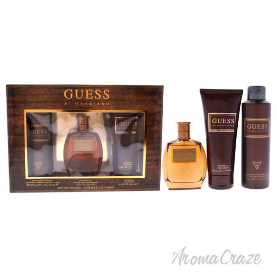 Picture of Guess by Marciano by Guess for Men 3 Pc Gift Set