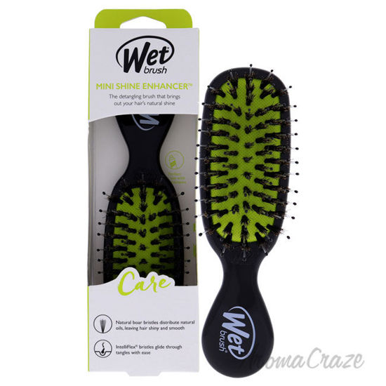 Picture of Mini Shine Enhancer Care Brush Black by Wet Brush for Unisex 1 Pc Hair Brush