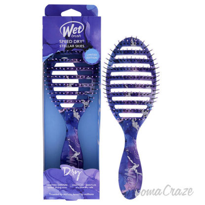 Picture of Speed Dry Stellar Skies Brush Violet Skies by Wet Brush for Unisex 1 Pc Hair Brush