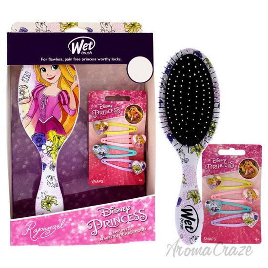 Picture of Rapunzel Detangler Set by Wet Brush for Unisex 2 Pc Kit Detangler Hairbrush, 4x Hair Snaps