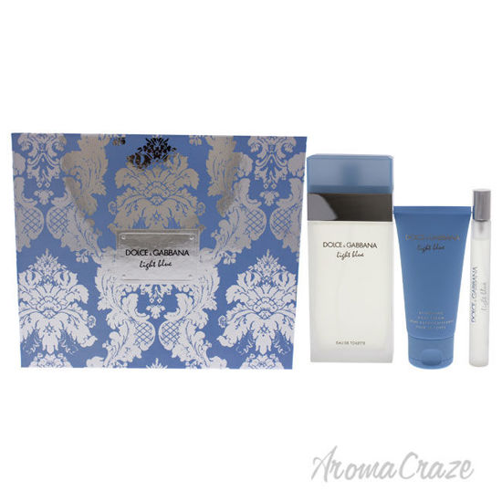 Picture of Light Blue by Dolce and Gabbana for Women 3 Pc Gift Set