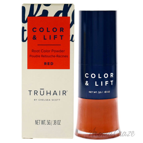 Picture of Color and Lift Root Color Powder Red by Truhair for Unisex 0.18 oz Hair Color