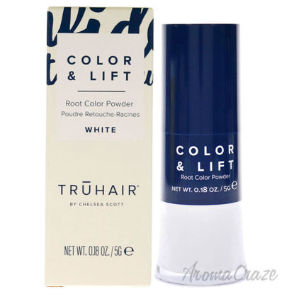 Picture of Color and Lift Root Color Powder White by Truhair for Unisex 0.18 oz Hair Color