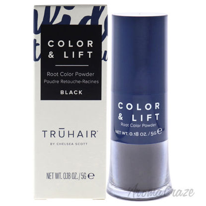Picture of Color and Lift Root Color Powder Black by Truhair for Unisex 0.18 oz Hair Color