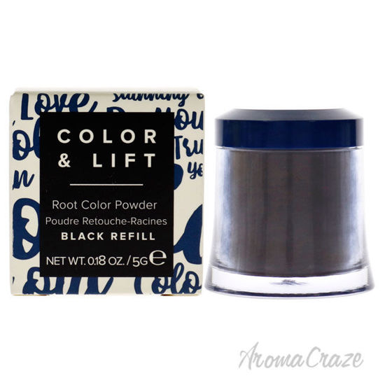 Picture of Color and Lift Root Color Powder Black by Truhair for Unisex 0.18 oz Hair Color (Refill)