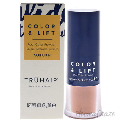 Picture of Color and Lift Root Color Powder Auburn by Truhair for Unisex 0.18 oz Hair Color