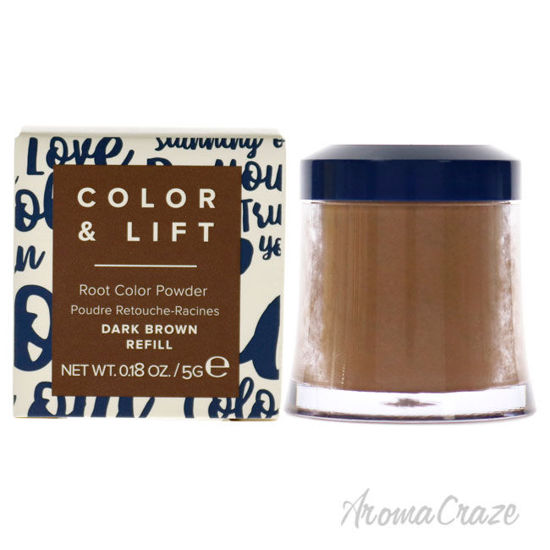 Picture of Color and Lift Root Color Powder Dark Brown by Truhair for Unisex 0.18 oz Hair Color (Refill)