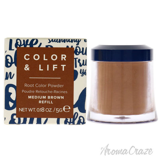 Picture of Color and Lift Root Color Powder Medium Brown by Truhair for Unisex 0.18 oz Hair Color (Refill)