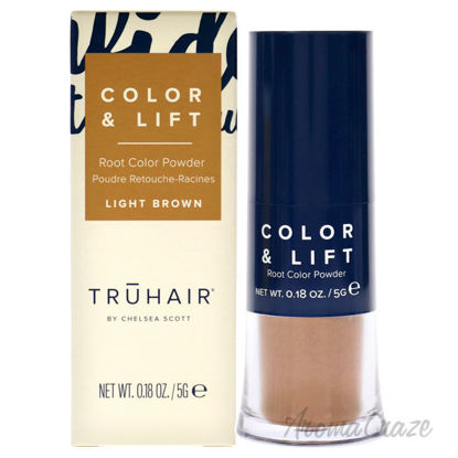 Picture of Color and Lift Root Color Powder Light Brown by Truhair for Unisex 0.18 oz Hair Color