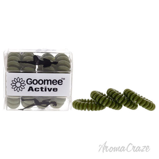 Picture of Active The Markless Hair Loop Set Green Tough As Turf by Goomee for Women 4 Pc Hair Tie