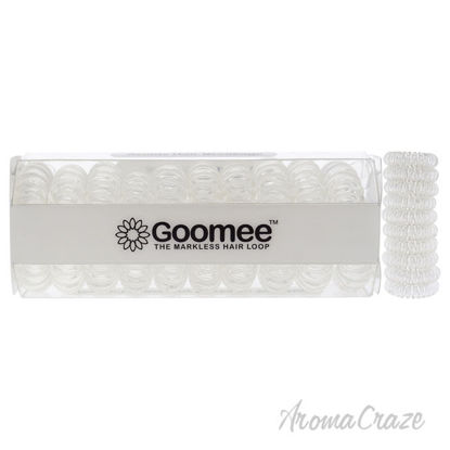 Picture of The Markless Hair Loop Set Clear by Goomee for Women 10 Pc Hair Tie