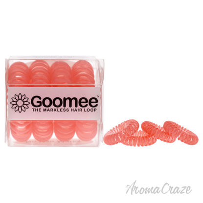 Picture of The Markless Hair Loop Set Huntington Peach by Goomee for Women 4 Pc Hair Tie