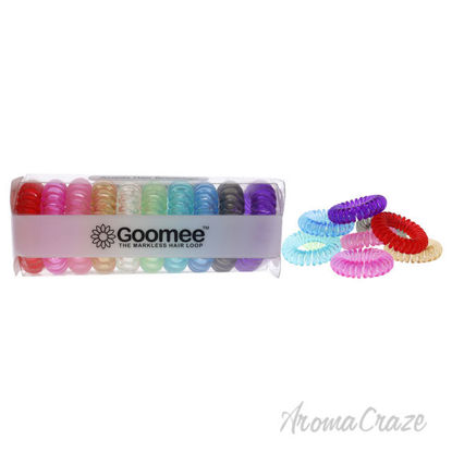Picture of The Markless Hair Loop Set Jelly Collection by Goomee for Women 10 Pc Hair Tie