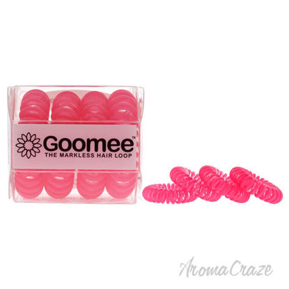 Picture of The Markless Hair Loop Set PCH Pink by Goomee for Women 4 Pc Hair Tie