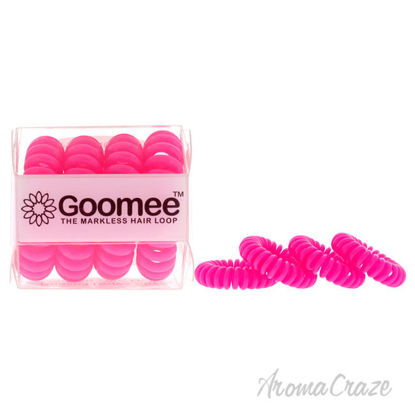 Picture of The Markless Hair Loop Set Panther Pink by Goomee for Women 4 Pc Hair Tie
