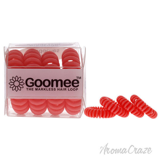 Picture of The Markless Hair Loop Set Peach Paradise by Goomee for Women 4 Pc Hair Tie