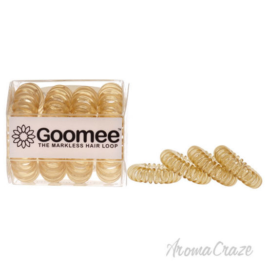 Picture of The Markless Hair Loop Set Whiskey by Goomee for Women 4 Pc Hair Tie