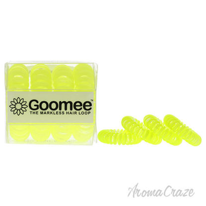 Picture of The Markless Hair Loop Set Yolo Yellow by Goomee for Women 4 Pc Hair Tie