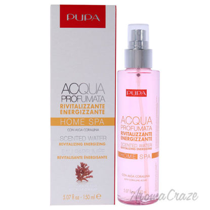 Picture of Home Spa Revitalizing Energizing Scented Water 004 Coralline Algae by Pupa Milano for Unisex 5.07 oz Body Mist