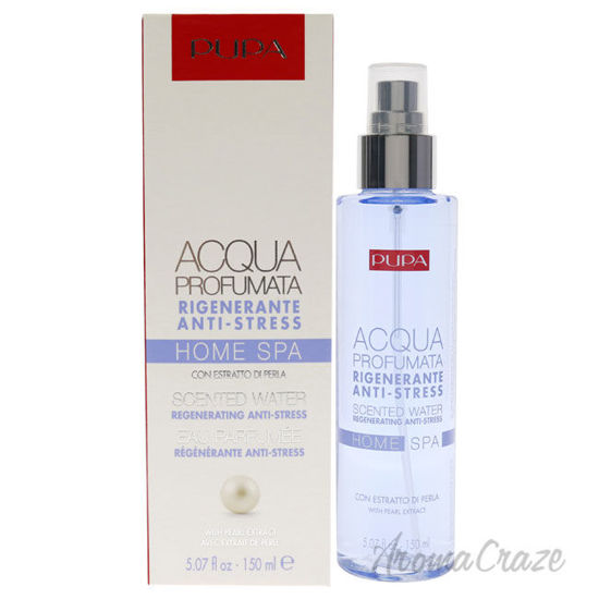 Picture of Home Spa Regenerating Anti-Stress Scented Water Pearl Extract by Pupa Milano for Unisex 5.07 oz Body Mist