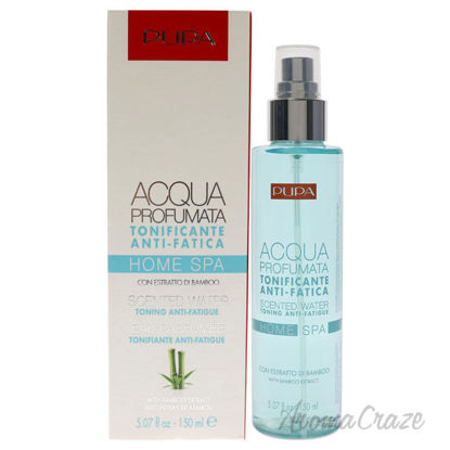 Picture of Home Spa Toning Anti-Fatigue Scented Water -Bamboo Extract by Pupa Milano for Unisex 5.07 oz Body Mist