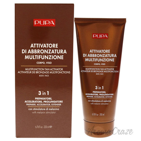 Picture of Multifunction Tan Activator Body Face 3-In-1 by Pupa Milano for Women 6.76 oz Bronzer