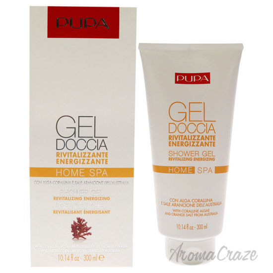 Picture of Home Spa Revitalizing Energizing Gel Coralline Algae by Pupa Milano for Unisex 10.14 oz Shower Gel