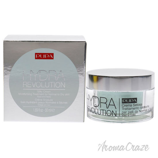 Picture of Hydra Revolution Silky Cream Moisturizing by Pupa Milano for Unisex 1.69 oz Treatment